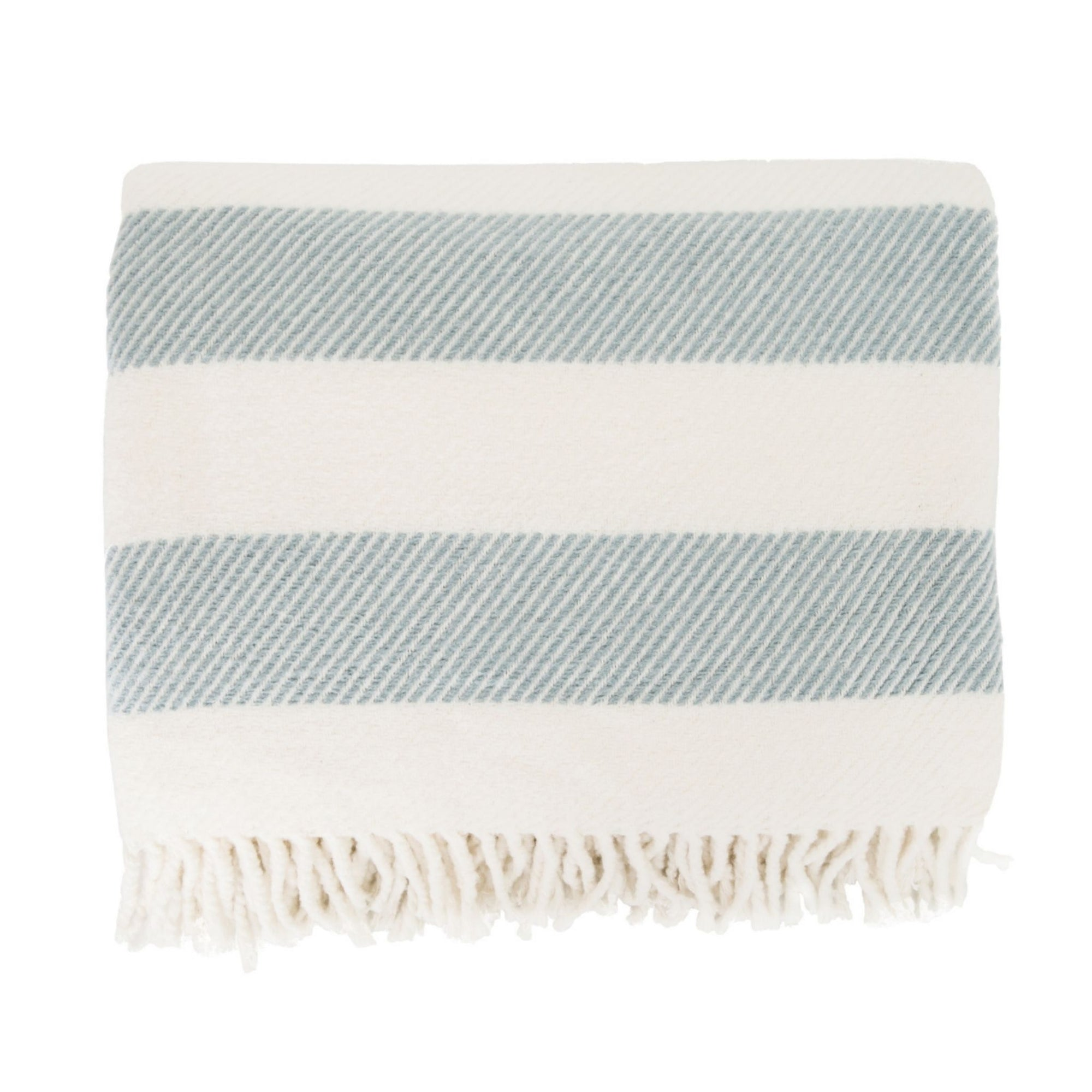 Candy Stripe Sky Throw