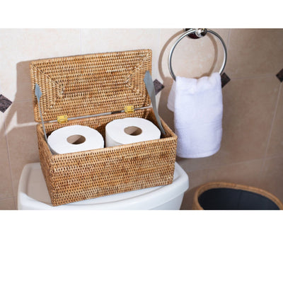 Rectangular Double Tissue Roll Box