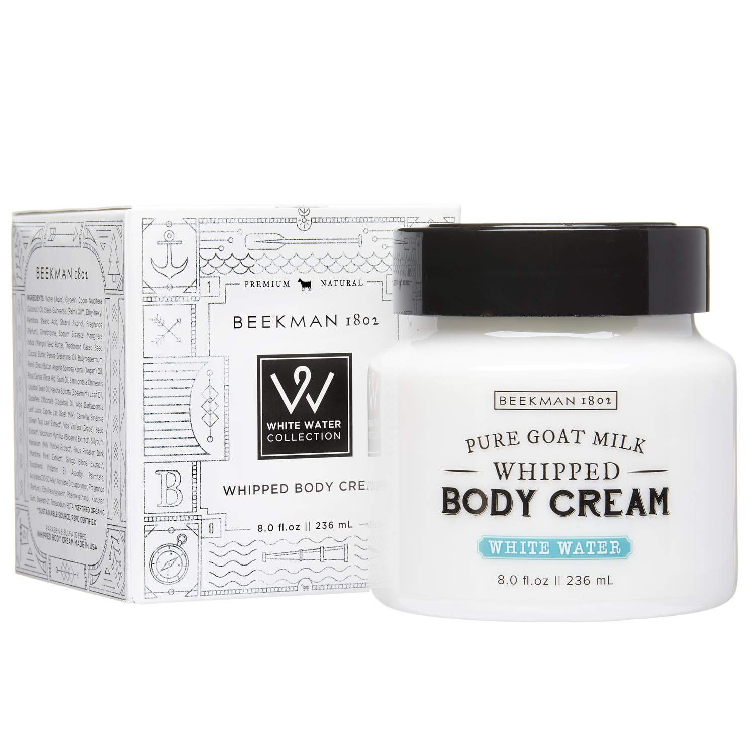 Beekman 1802 White Water Whipped Body Cream