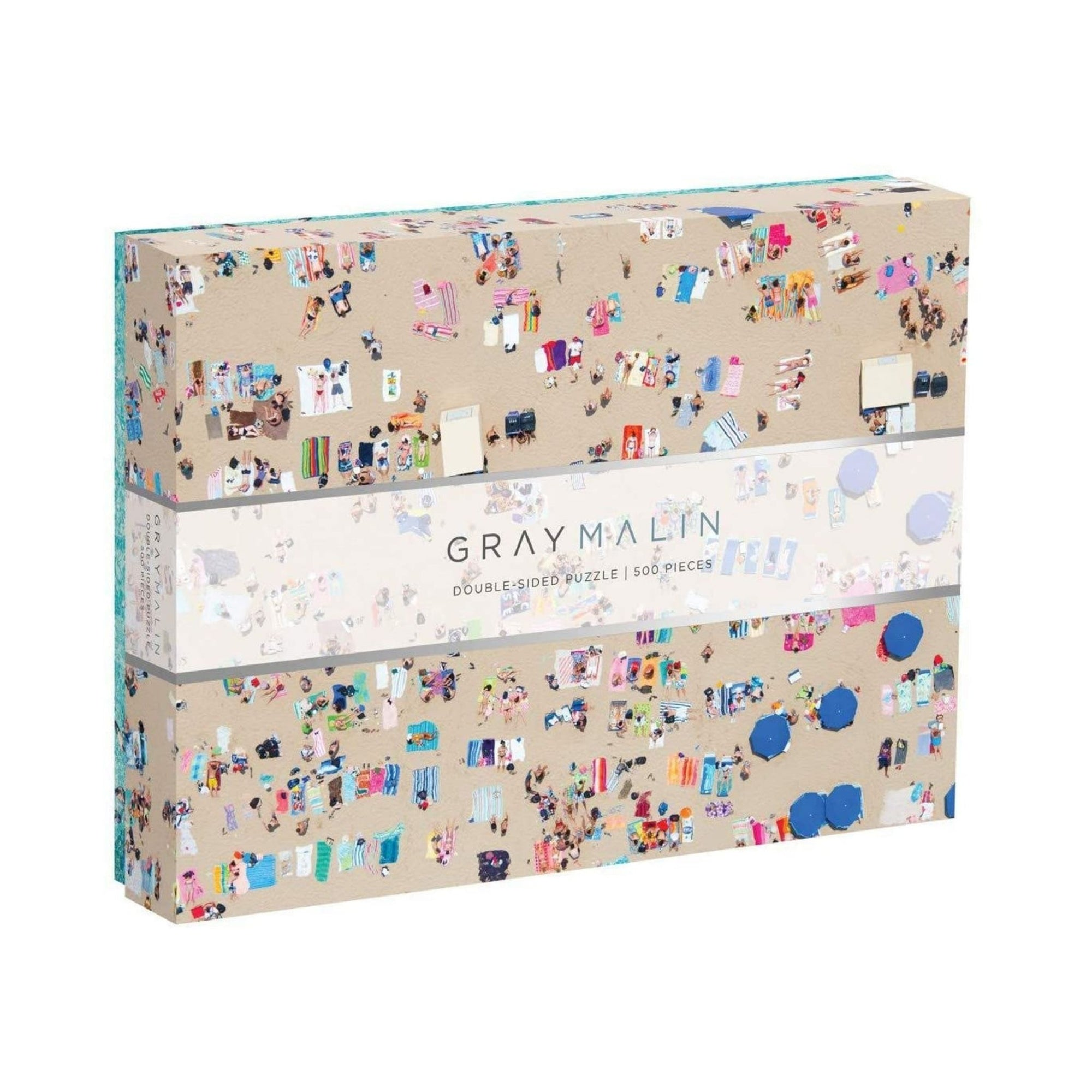 Gray Malin The Beach 2-Sided Puzzle