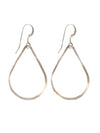 Jackson Silver Teardrop Earrings