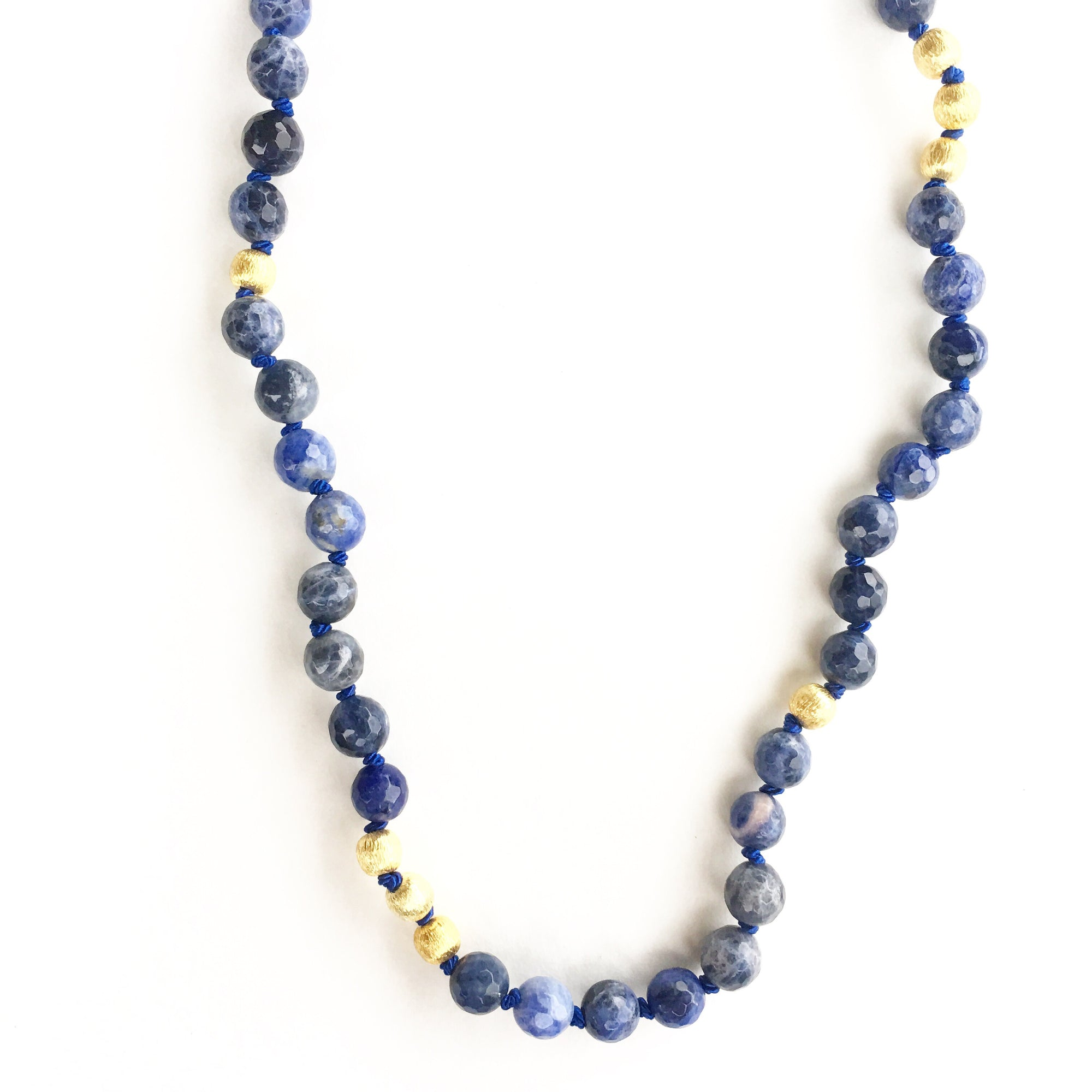 Solana Sodalite Necklace