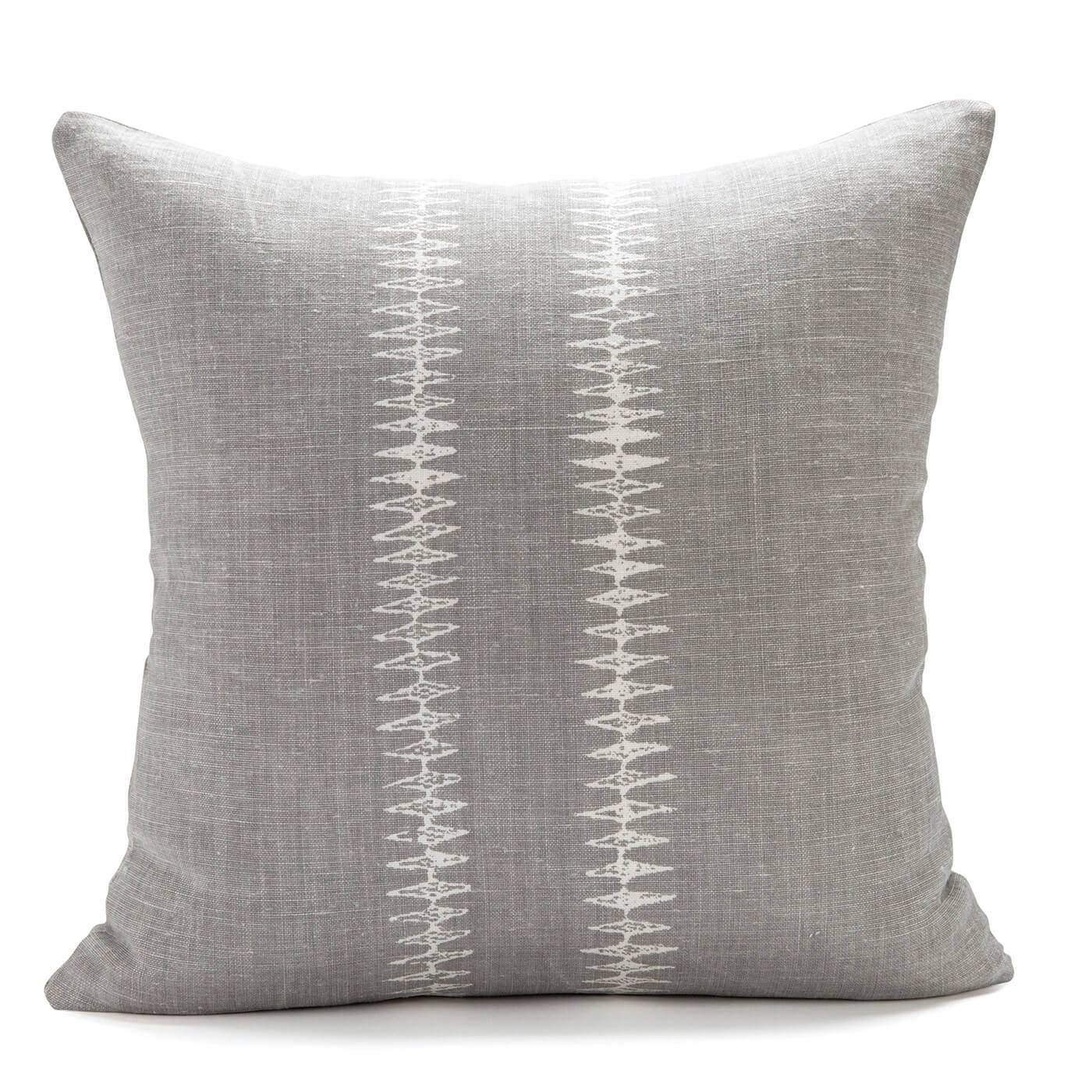Sound Dark Gray Pillow