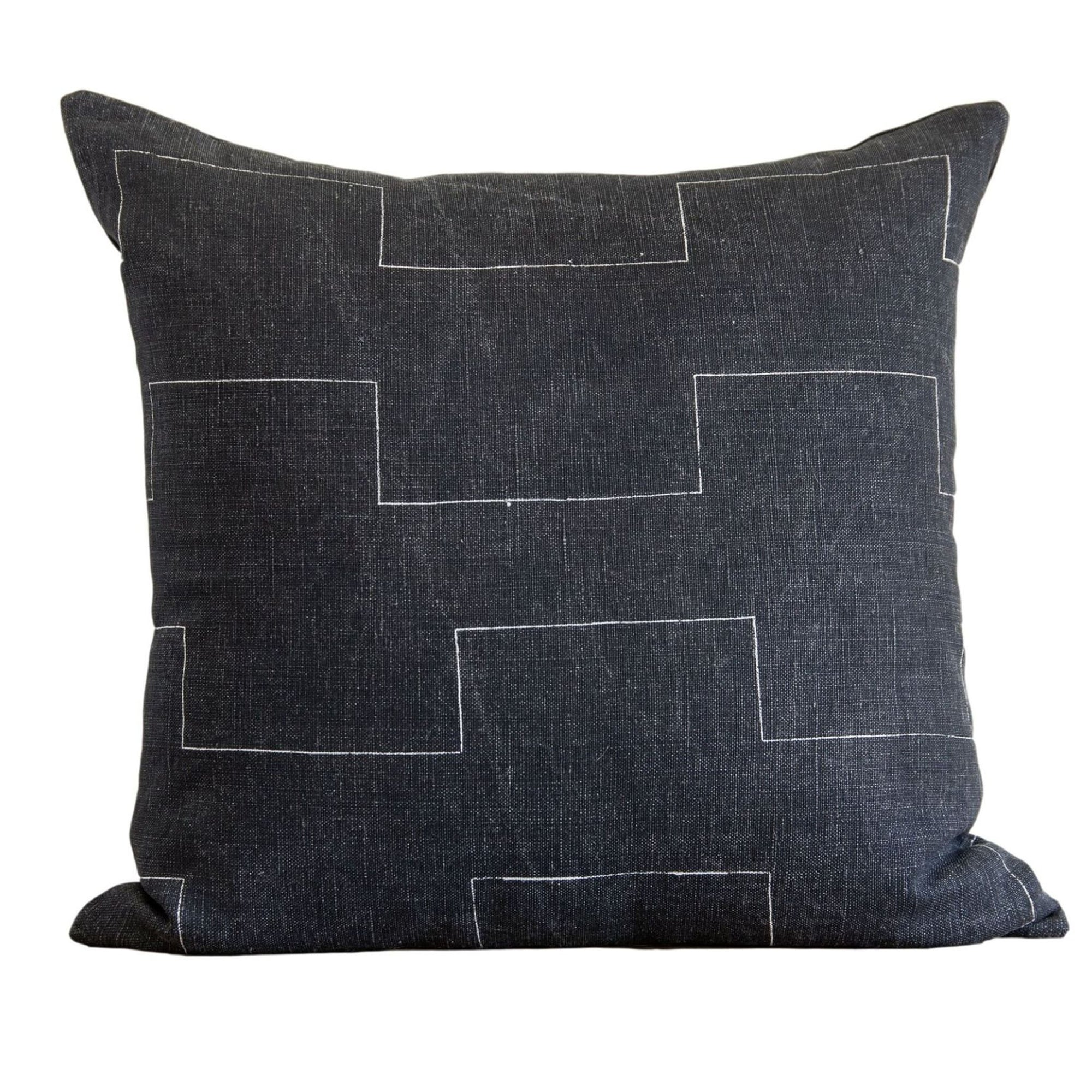 Harbor Dark Charcoal Pillow