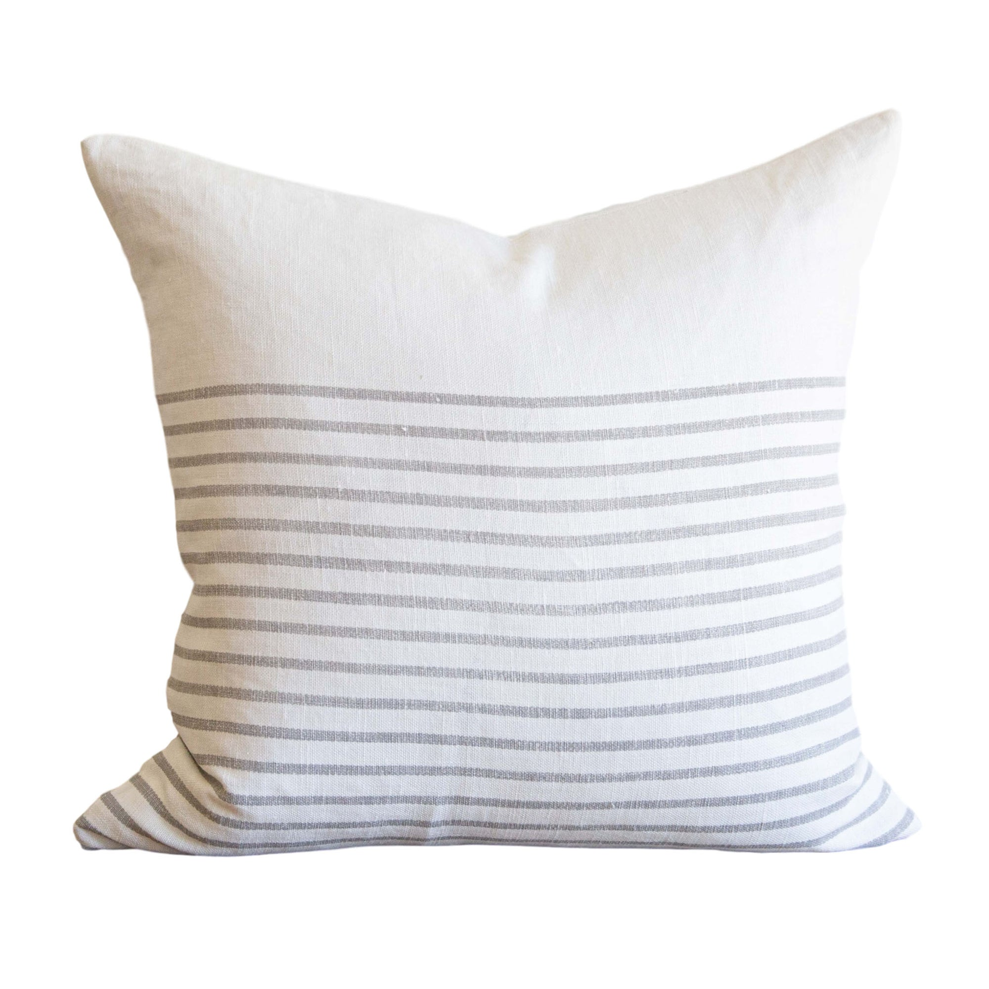 Three Quarter Stripe Pillow