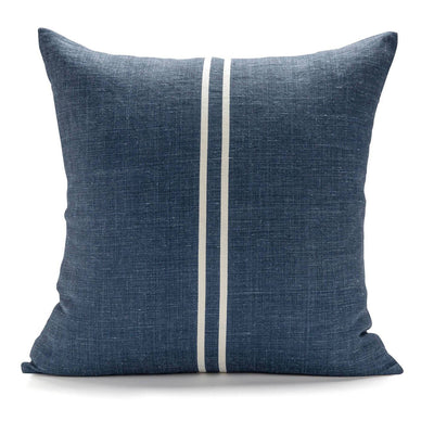 Two Stripe Dark Pillow