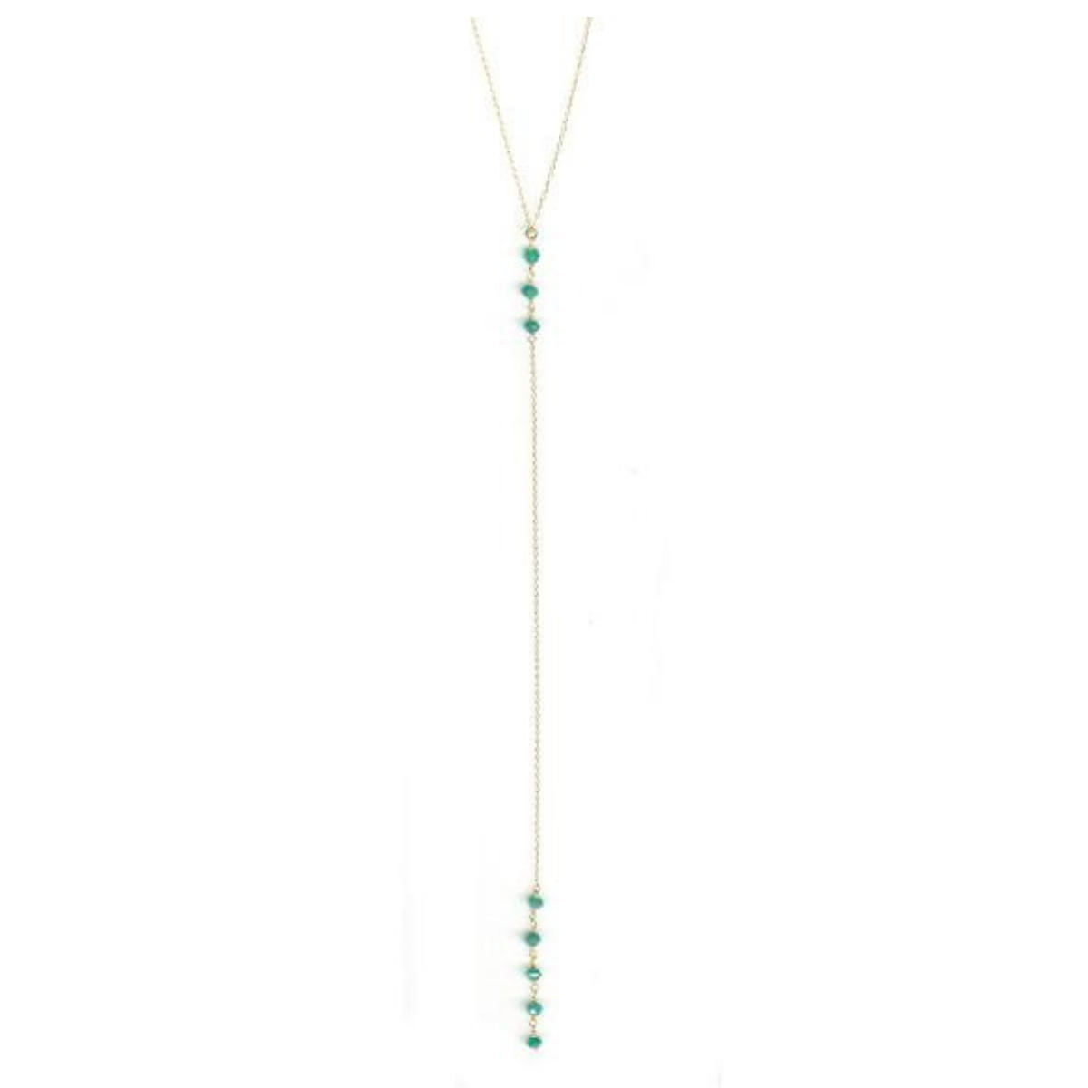 Cami Turquoise Howlite Necklace