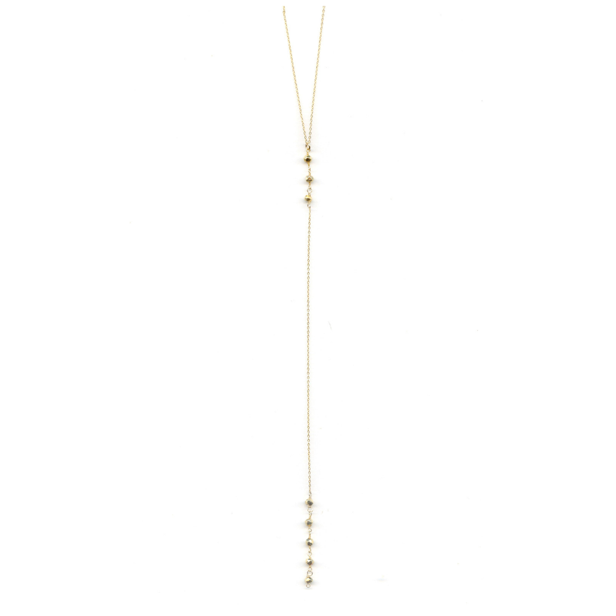 Cami Gold Pyrite Necklace
