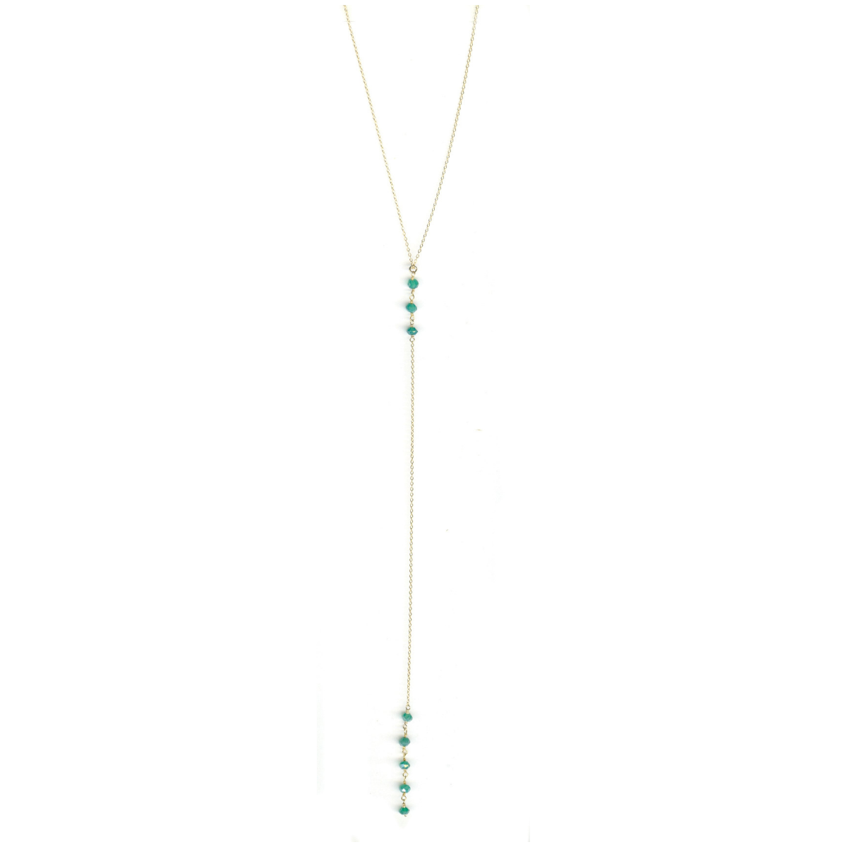 Cami Green Onyx Necklace