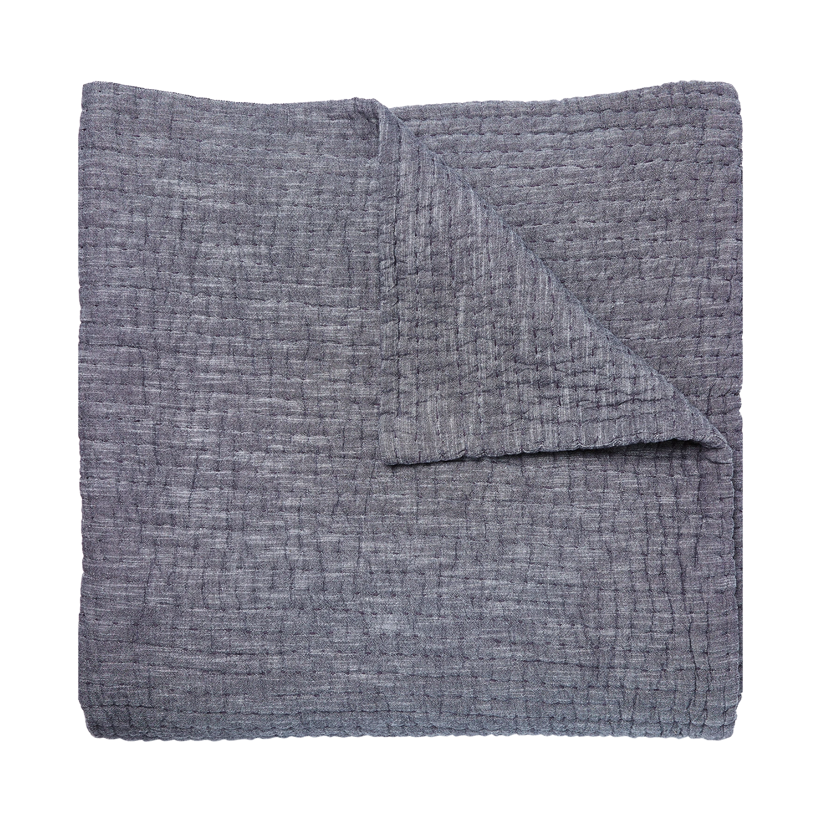 Vivada Gray Coverlet