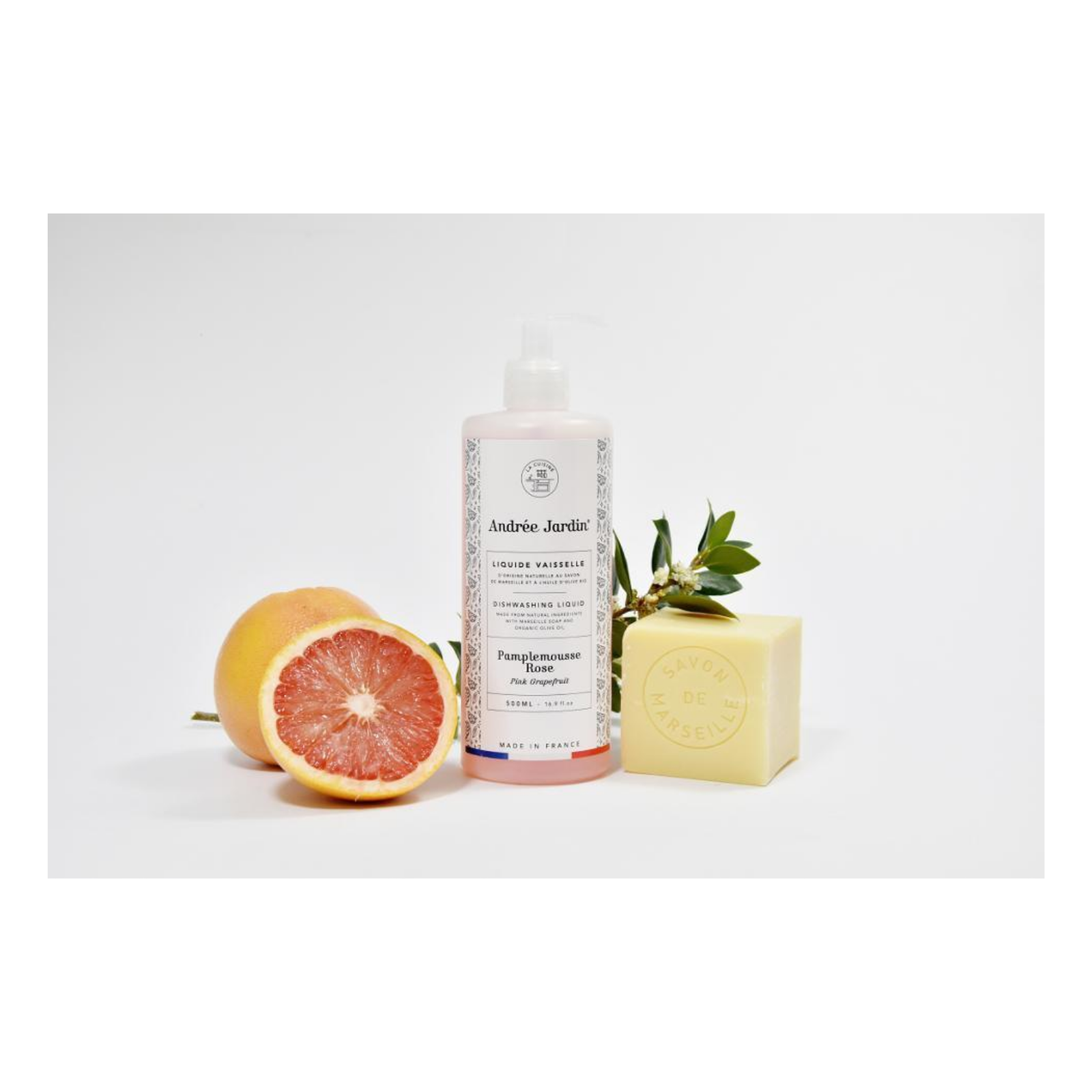 Grapefruit & Rose Dish Washing Liquid