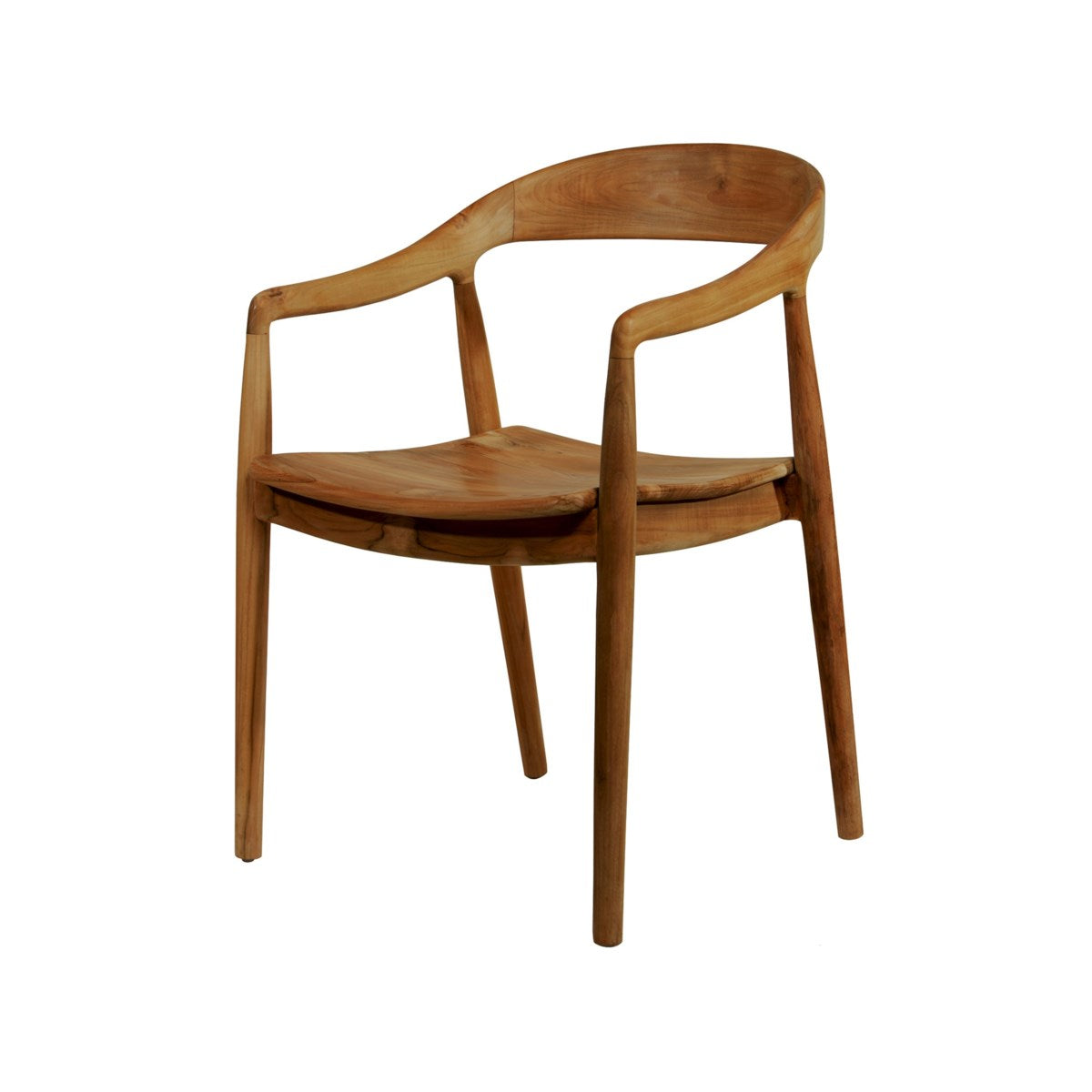 Ingrid Teak Arm Chair