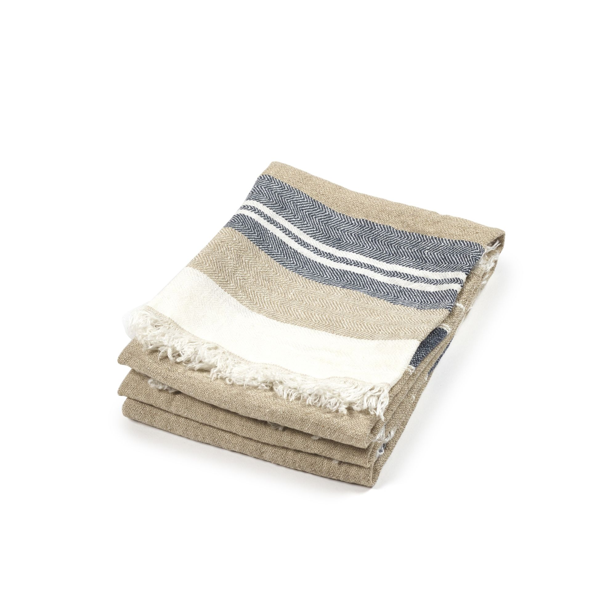 Belgian Guest Towel Bastion Stripe
