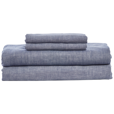 Cabatti Indigo Sheet Set