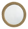 Jamie Young Braided Jute Rope Mirror