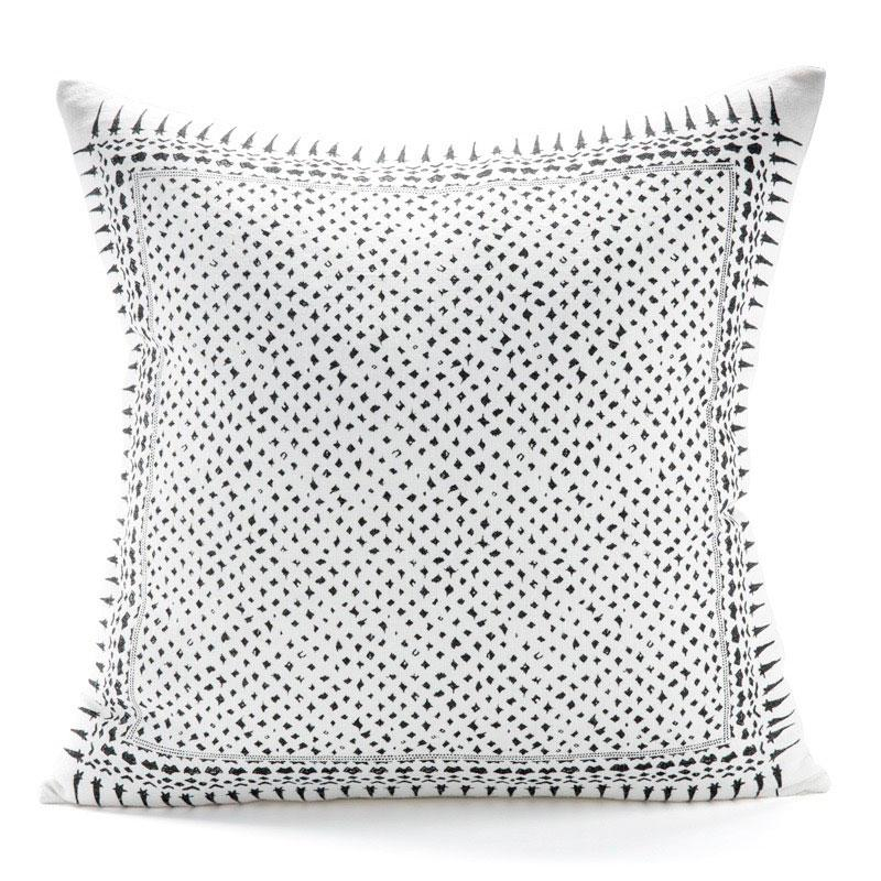 Gracie Charcoal Pillow