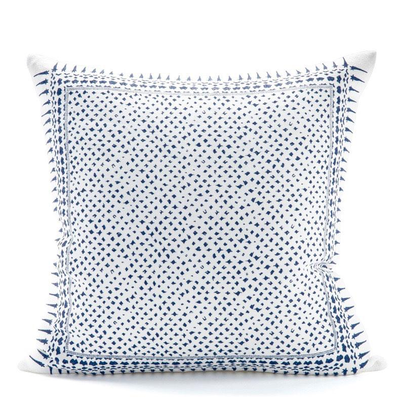 Gracie Denim Blue Pillow
