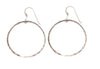 Jackson Silver Hoop Earrings