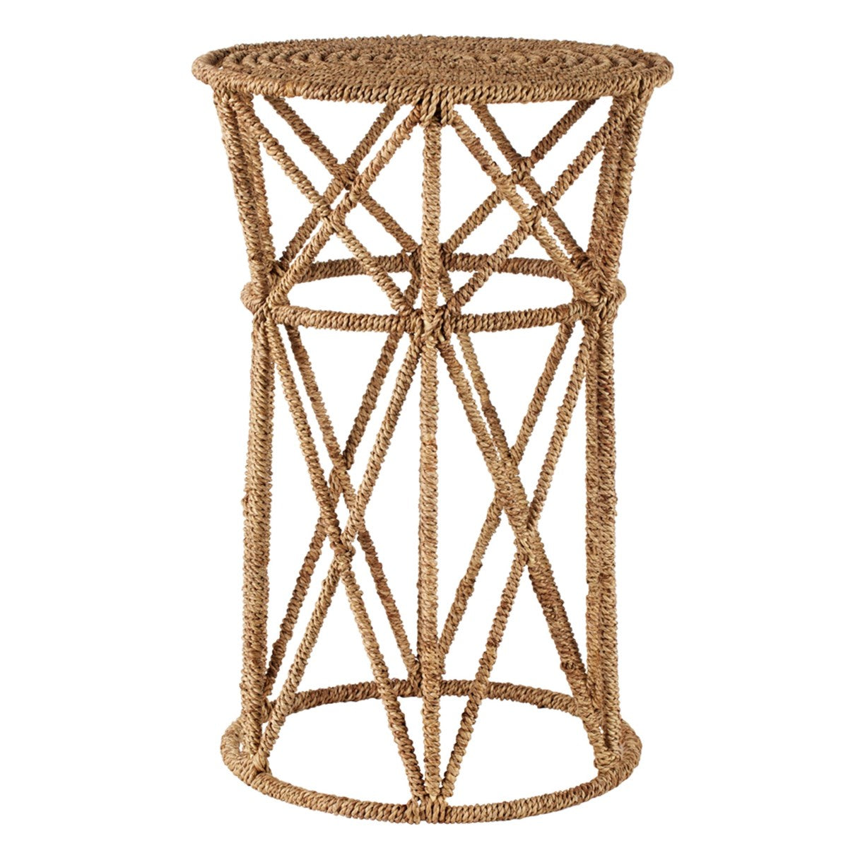 Jute Buoy Side Table