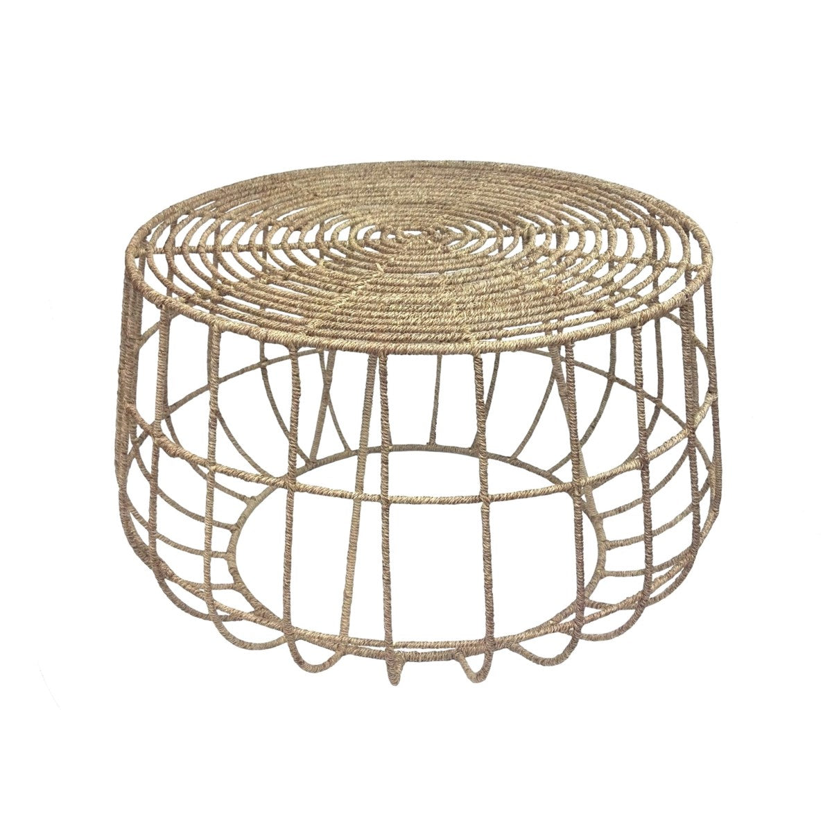 Jute Coffee Table