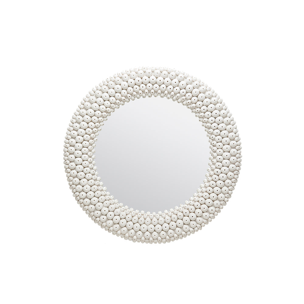 Helene Faux Sea Urchin Mirror