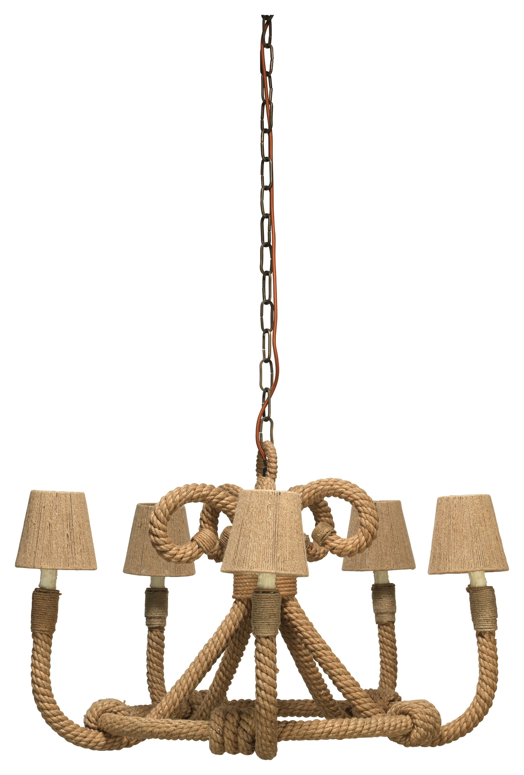 Jamie Young Nautique Chandelier