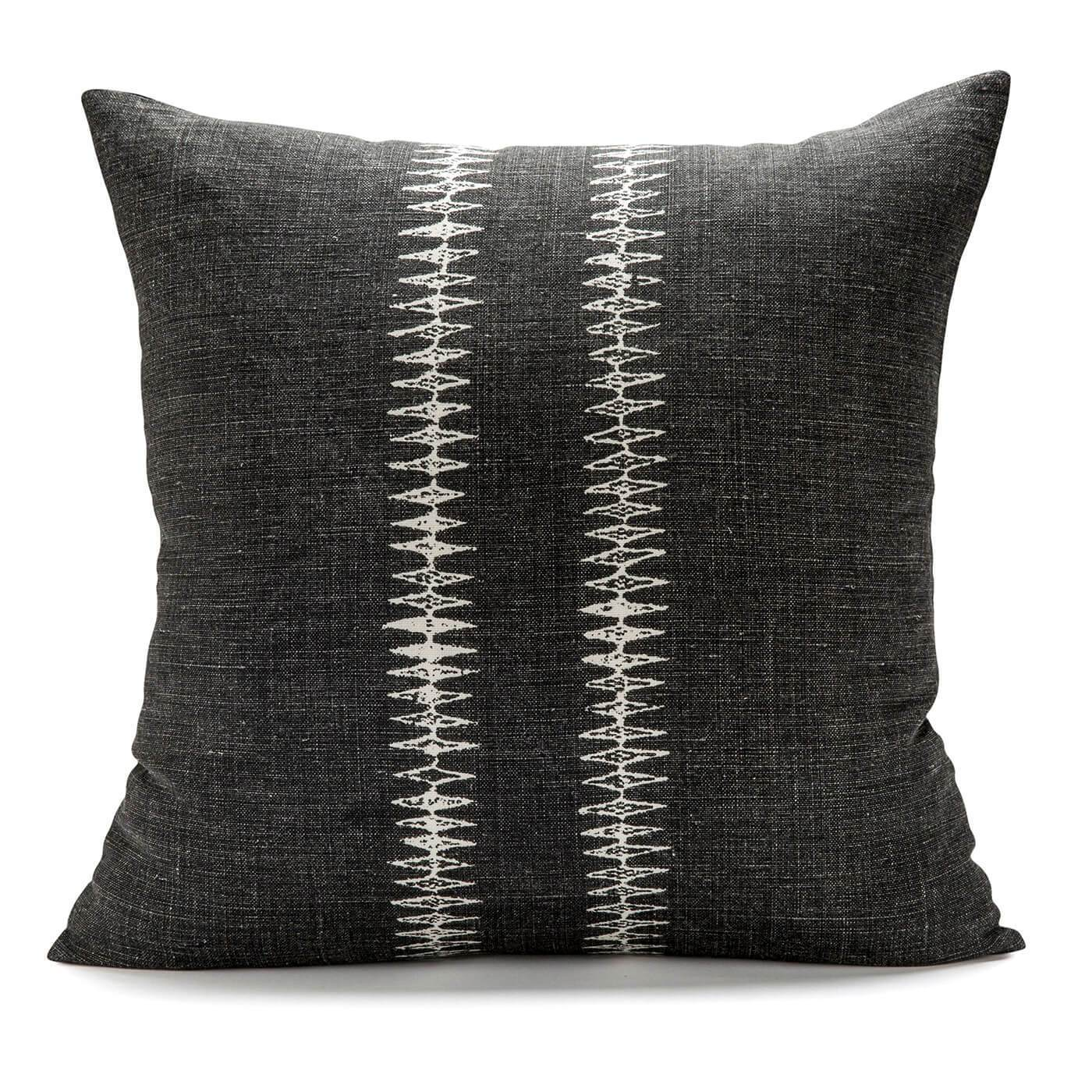 Sound Dark Charcoal Pillow