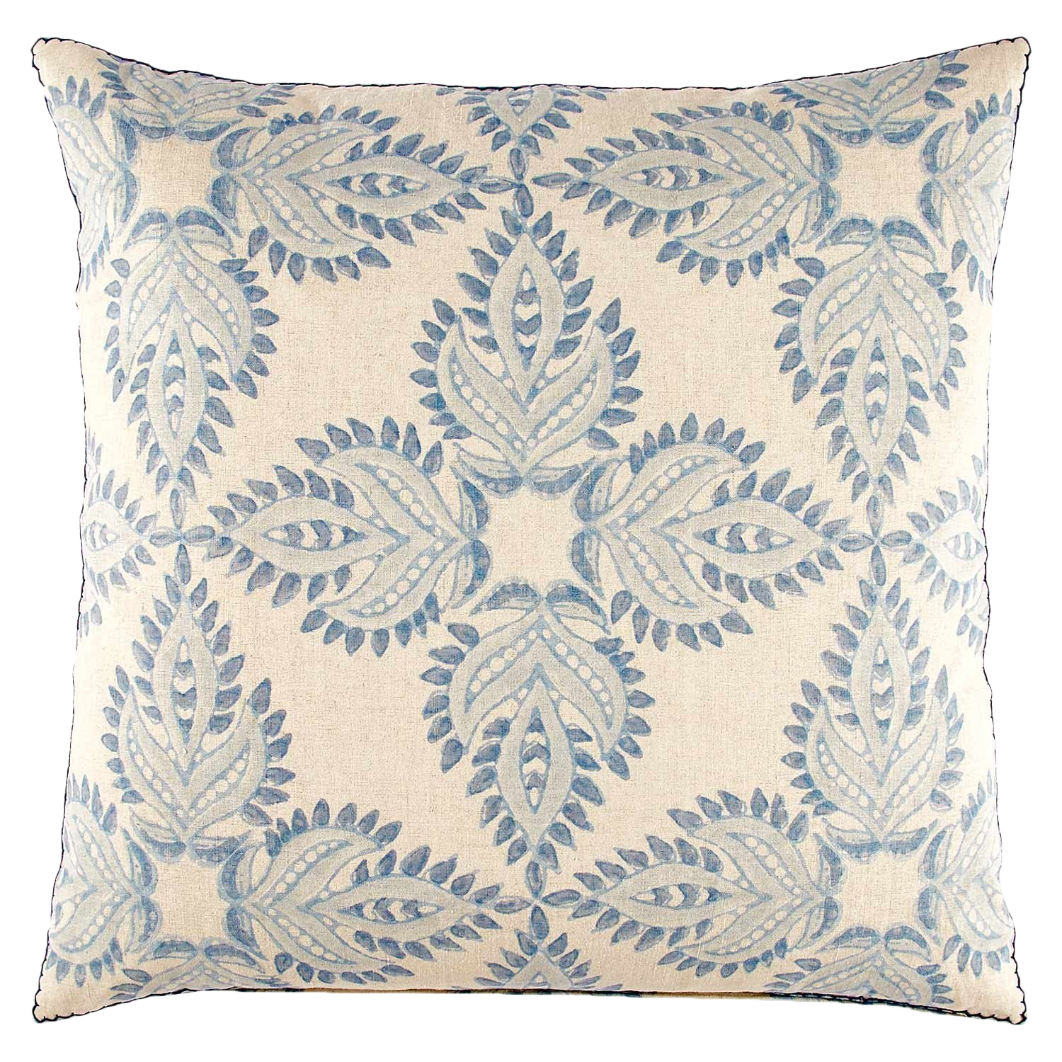 Verdin Lapis Pillow Cover