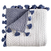 Sahati Indigo Throw