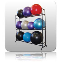 Exercise Ball Storage