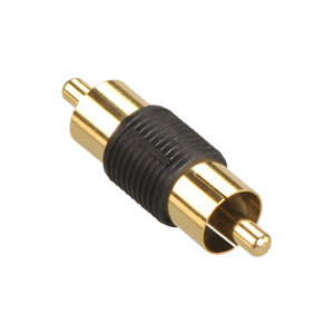 RCA Male to Male RCA Coupler Connector Adapter