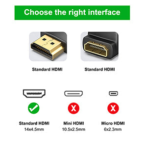 HDMI 90 Degree and 270 Degree Adapter