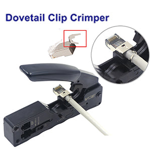 RJ45 Ethernet Cable Crimping Tool