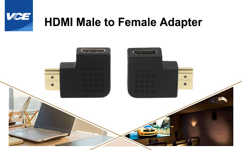 hdmi vertical flat adapter