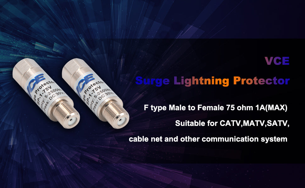 Coaxial Surge Lightning Protector