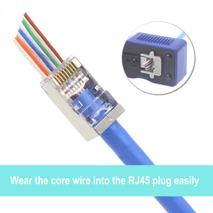CAT6 Shielded Modular Plugs