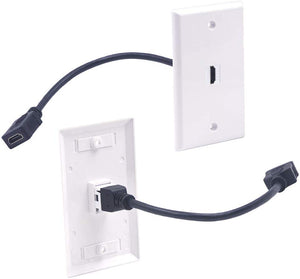 HDMI Female to Female Wall Plate