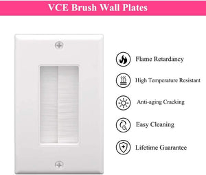 Brush Wall Plate