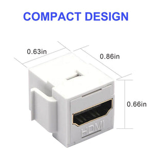 Female to Female 3D4K Mini Coupler