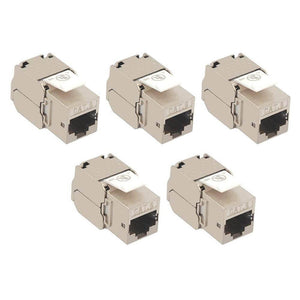 RJ45 Cat6 Shielded Metal Keystone Jacks