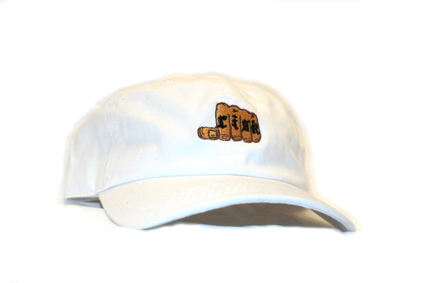 White Strap Back - Risk Tattoo