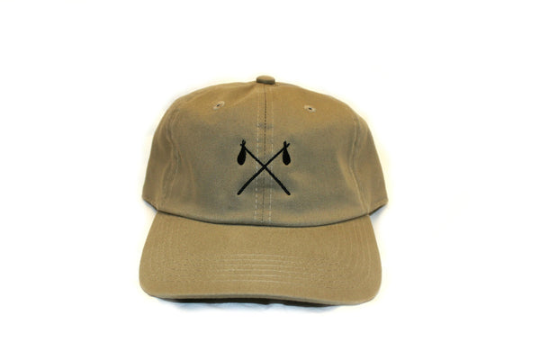 Khaki Strap Back - Crossed Satchels
