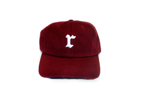 Burgundy Strap Back Hat