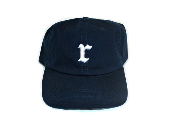 Navy Strap Back Hat