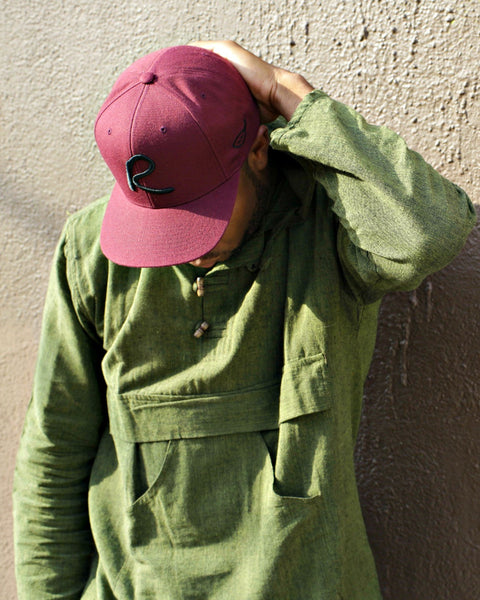 Burgundy Signature Snap Back