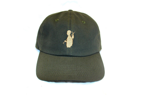 Olive Strap Back - Mr. Risk Taker