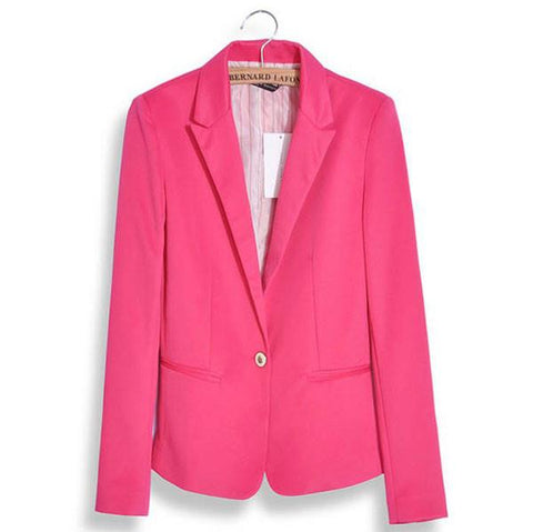 Latest Colorfuls Lapel Suits Coats - wikoco.com