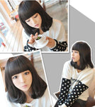 Cute Pear Fashion Short Hair Wig - wikoco.com