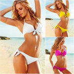 Sexy Steel Breast Care Bowknot Bikini&Swimsuit