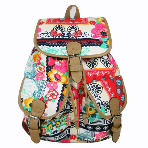 Unique Jacquard Leisure Backpack&Schoolbag